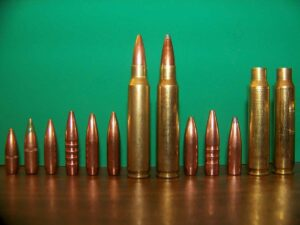 Different types of ammo